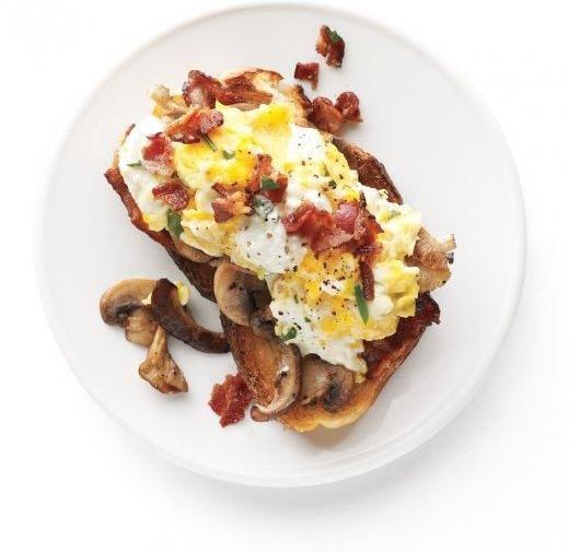 Mushroom Garlic Toasts - Wanna Know a Secret? You Can Put so Many ...