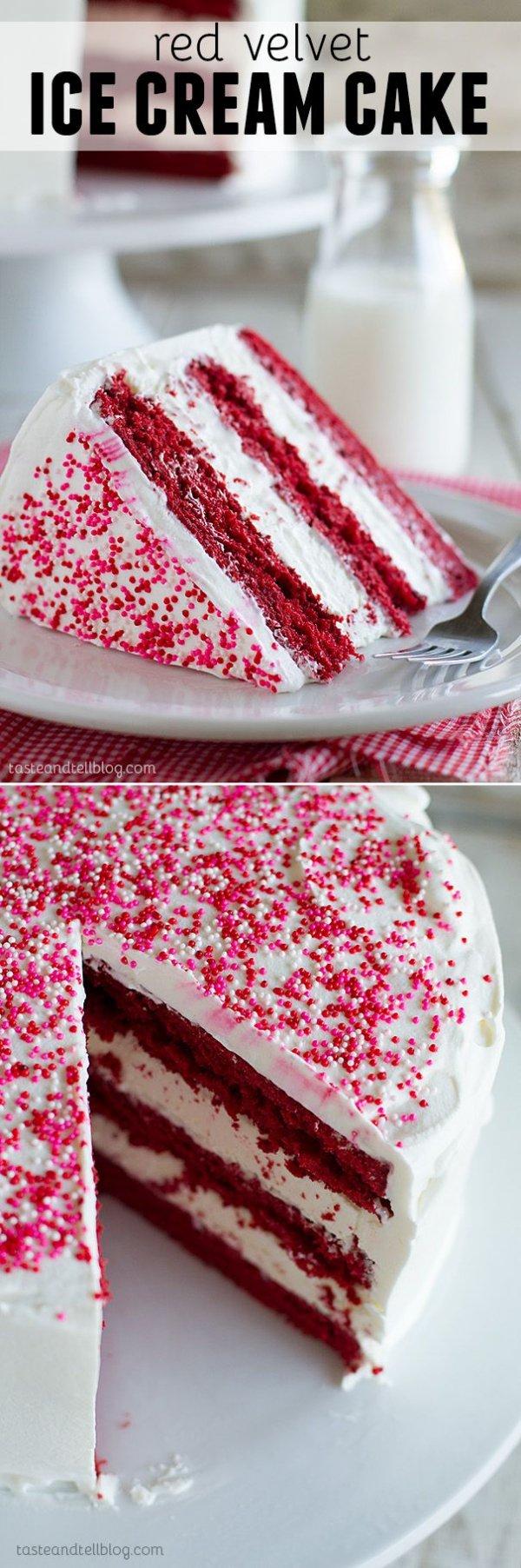 Red Velvet Ice Cream Cake - Need to Cool off? 28 Ice Cream ...