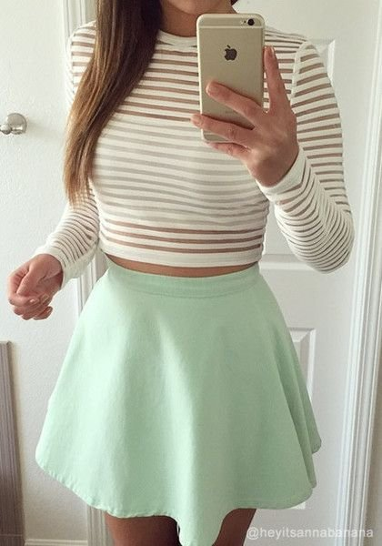 Style your crop top with