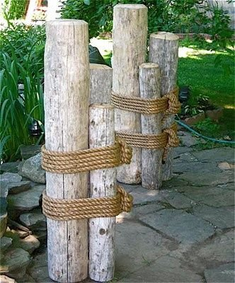 Build Wood Marine Pilings for Your Outdoor Space