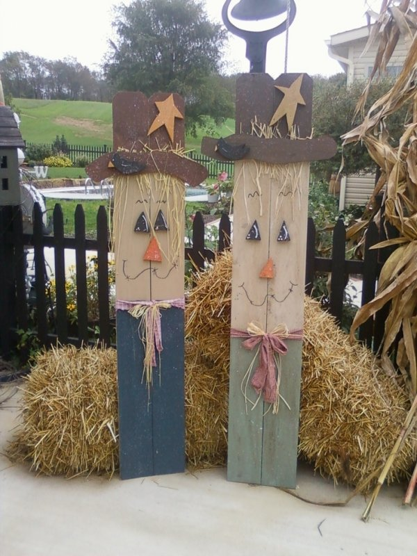 Country Wooden Craft Ideas
