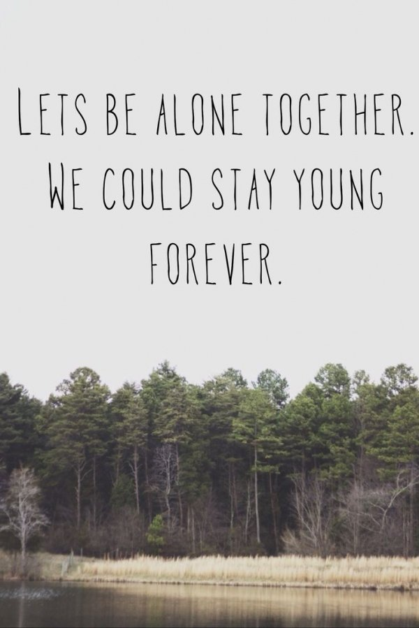 alone together fall out boy Quotes