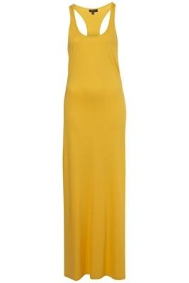 Topshop Yellow Easy Vest Maxi Dress