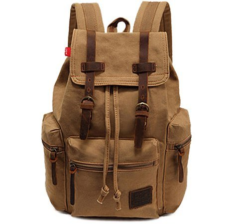 bag, brown, backpack, product,
