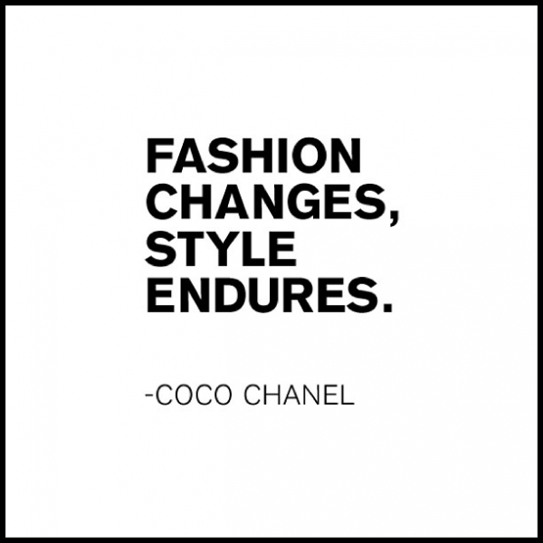 Fashion Changes But Style Endures