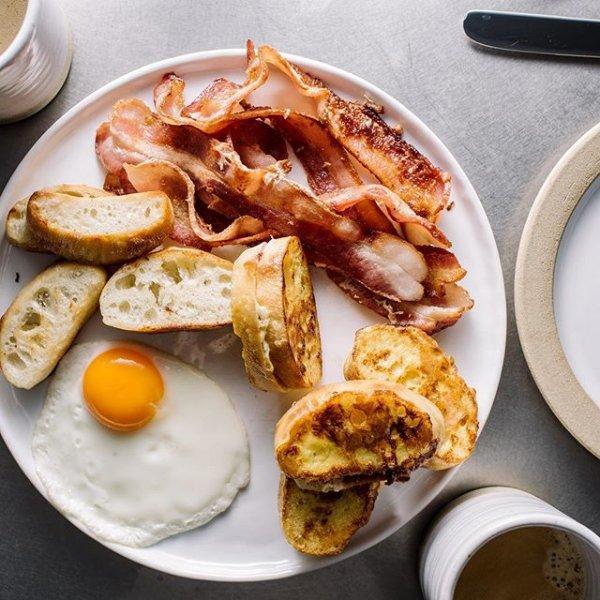 dish, food, meal, breakfast, meat,