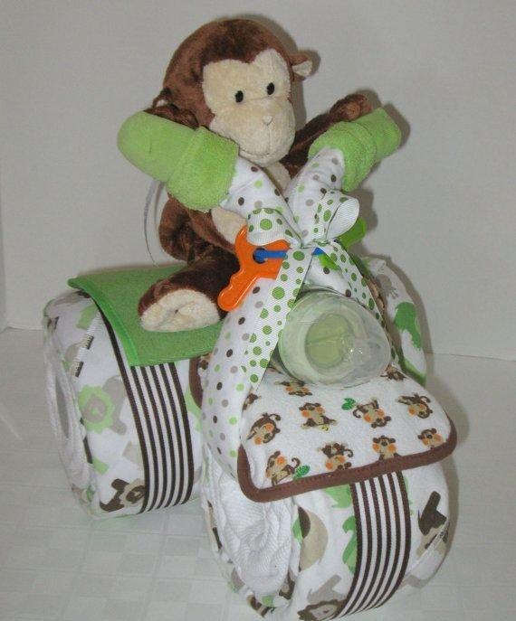 Elephant Diaper Cake Tutorial Diaper Cake