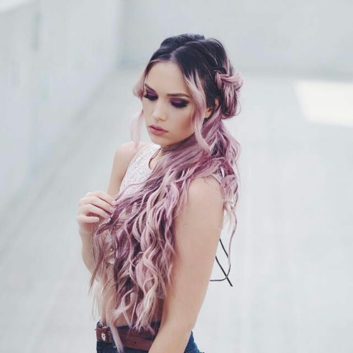 hair,clothing,hairstyle,pink,beauty,