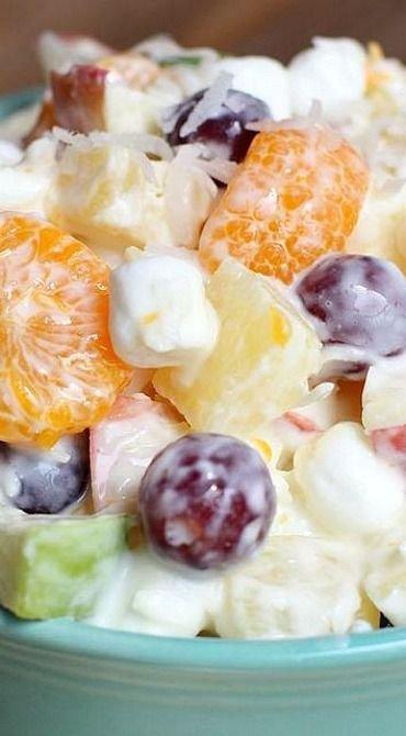 how to make fruit salad e juice