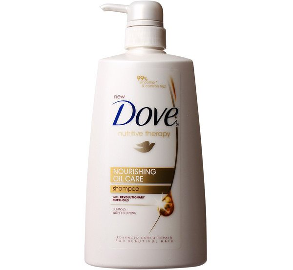 Swap Your Redken All Soft Shampoo out for Dove Nourishing Oil Care Shampoo