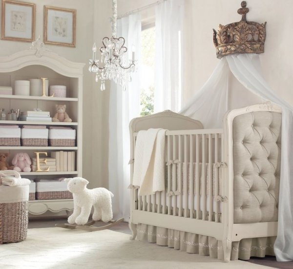 Upholstered Crib