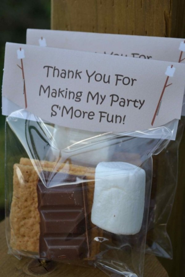 Camping Party Favors 23 Totally Awesome Party Favors For