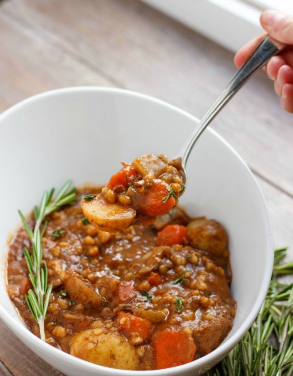 Beef Stew with Barley - How to Turn Comfort Foods into Five-Star…