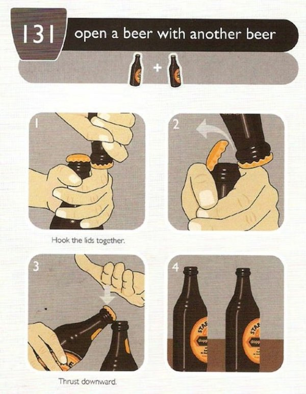 Open a Beer with Another Beer!