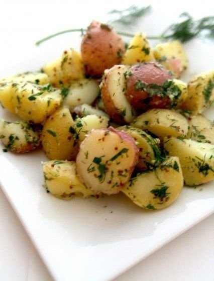 12. Herbed Potato Salad - 21 Mayo-free Salads to Rock All Your…