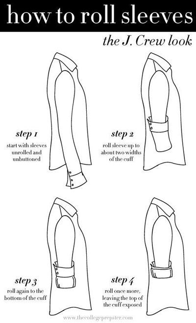 Amazing life saving clothing and fashion hacks every girl for How to roll up sleeves on women s dress shirt