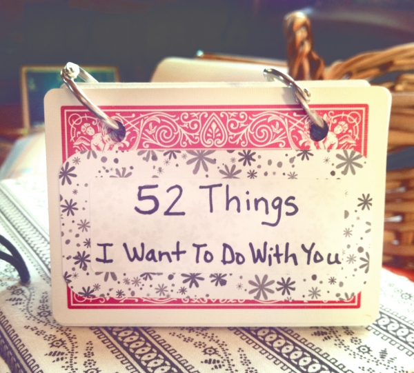 11 Things I Want To Do With You Booklet 11 Diy