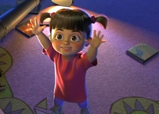 Boo is the Witch from Brave