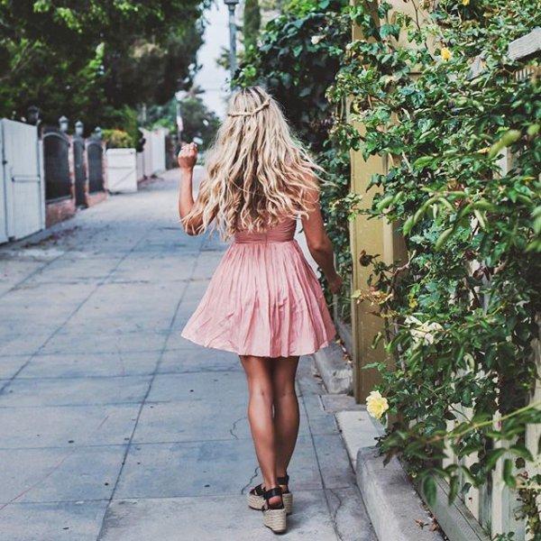 clothing, hairstyle, footwear, dress, pattern,
