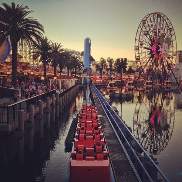 Disneyland in Anaheim, California, USA