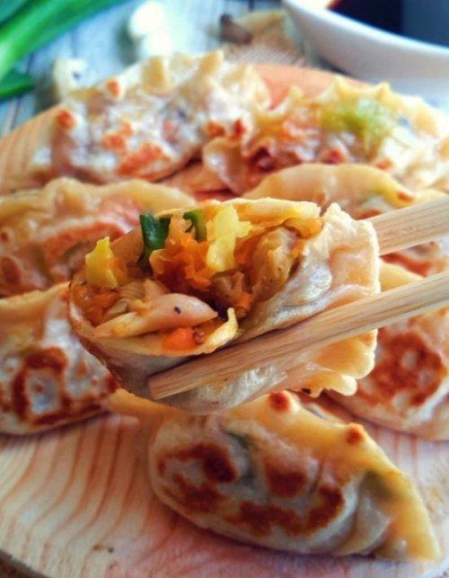 Veggie-stuffed Potstickers