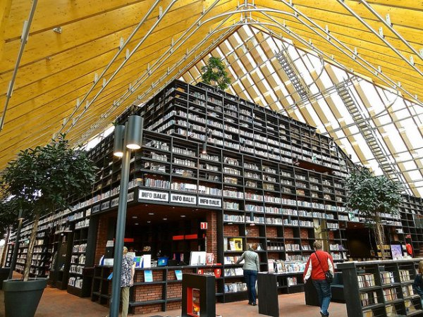Book Mountain Library, Spijkenisse, Netherlands