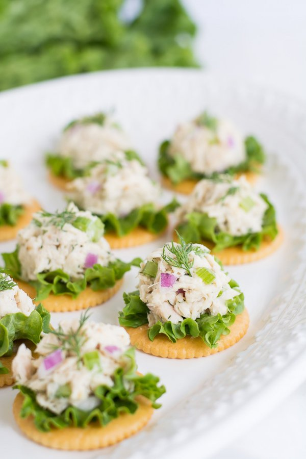 Tuna with Whole-wheat Crackers