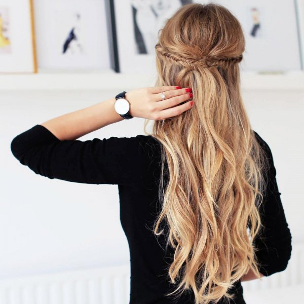 hair, hairstyle, long hair, brown hair, hair coloring,