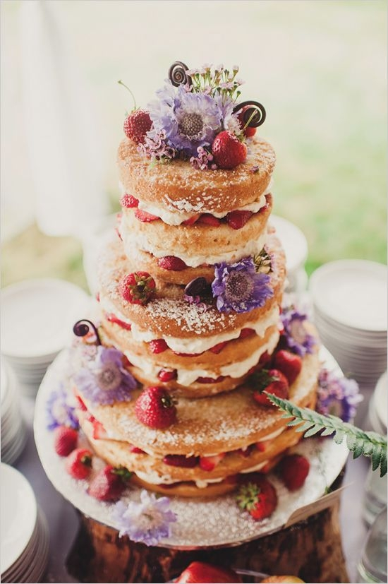 Powdered Sugar and Flowers