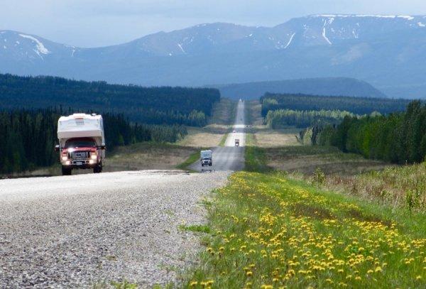 The Alcan Highway, Canada to Alaska