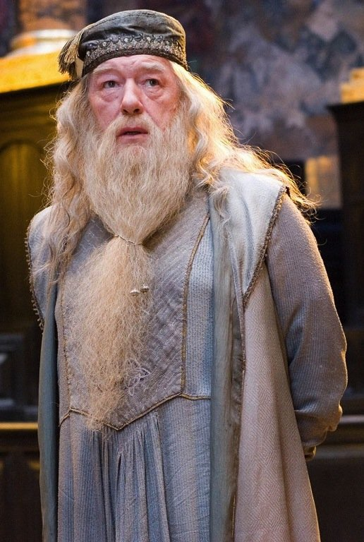 Dumbledore in Harry Potter and the Half-Blood Prince