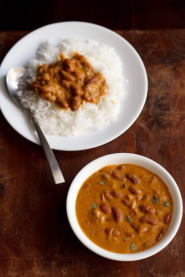 Comfort food at its best, rajma is a gorgeous kidney bean curry made ...
