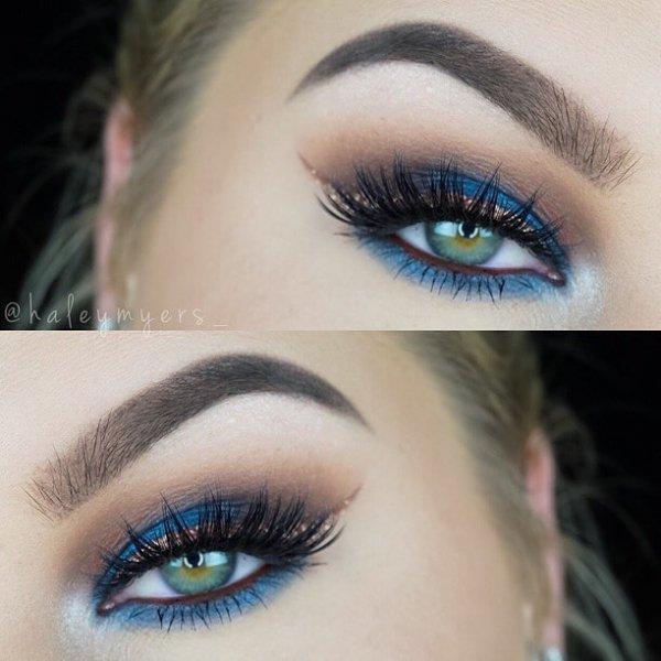 color, eyebrow, blue, electric blue, eyelash,