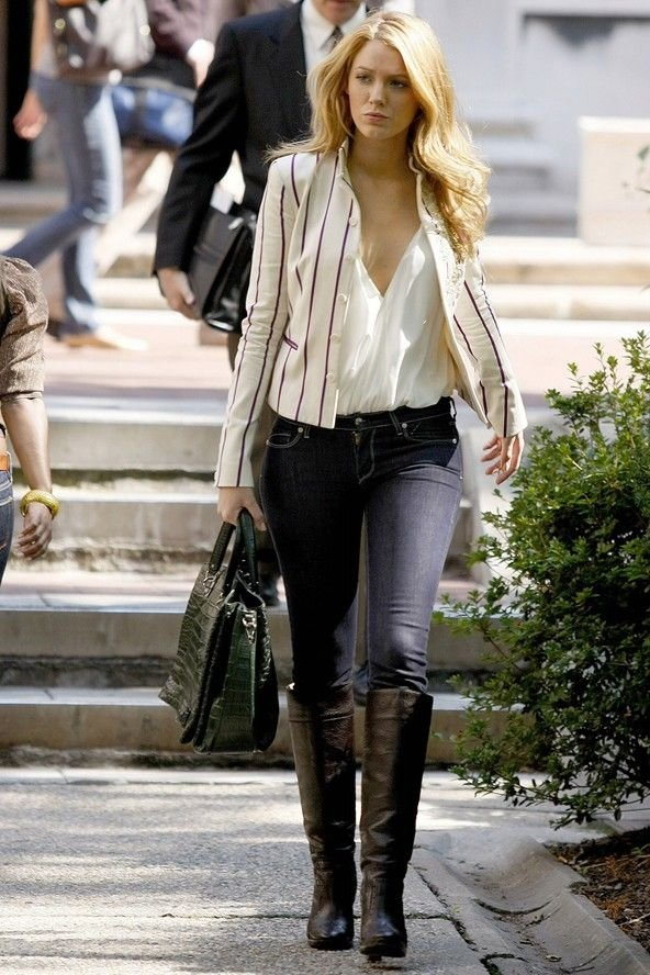Serena van der woodsen fashion season 5 photo