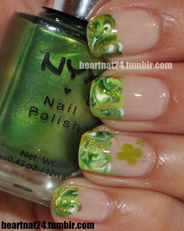 Difundir la suerte: 46 de uñas para el día del St Patrick ...