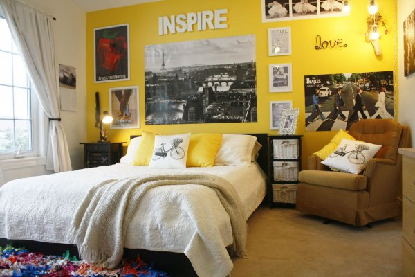 You Will Love Having Yellow on Your Bedroom Walls