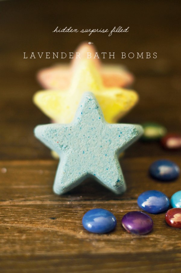 Lavender Star Bath Bombs