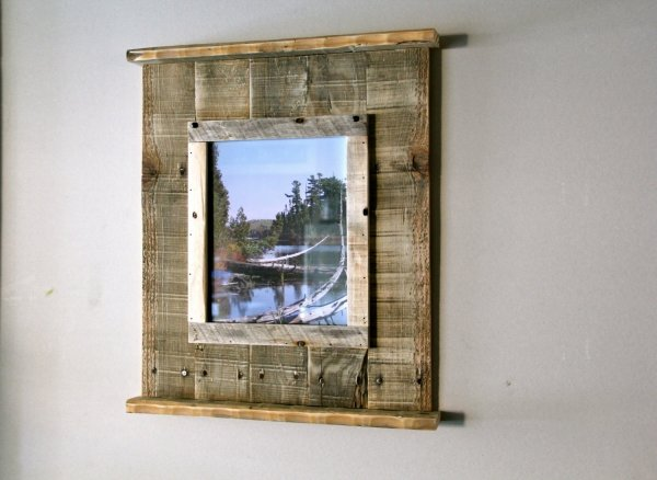 Pallet Art Picture Frame 7 Beautiful DIY Wall