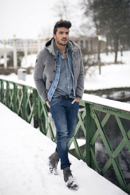 footwear,winter,clothing,denim,weather,