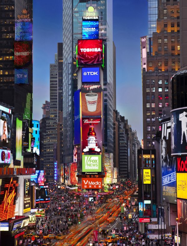 Times Square: New York, USA