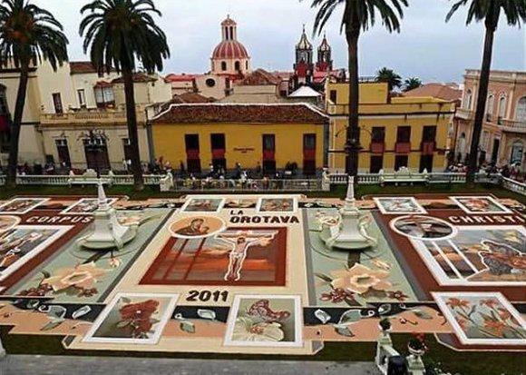 La Orotava's Magic Carpet Streets, Tenerife, Canary Islands