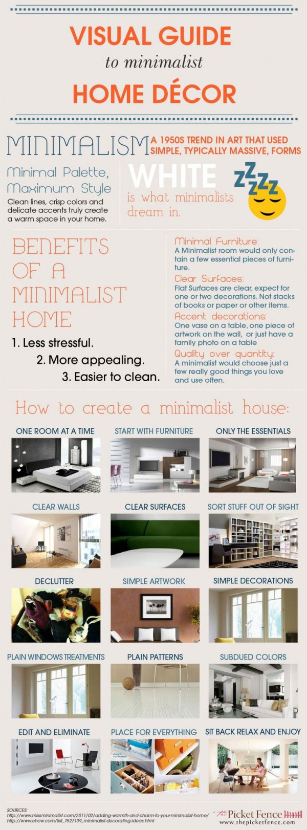 A Visual Guide to Minimalist Home Decor