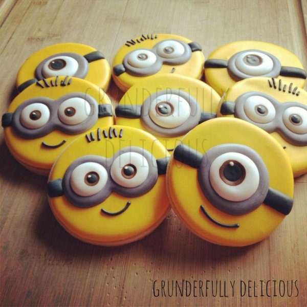 Minions 71 Ultra Fancy Decorated Cookies For Every