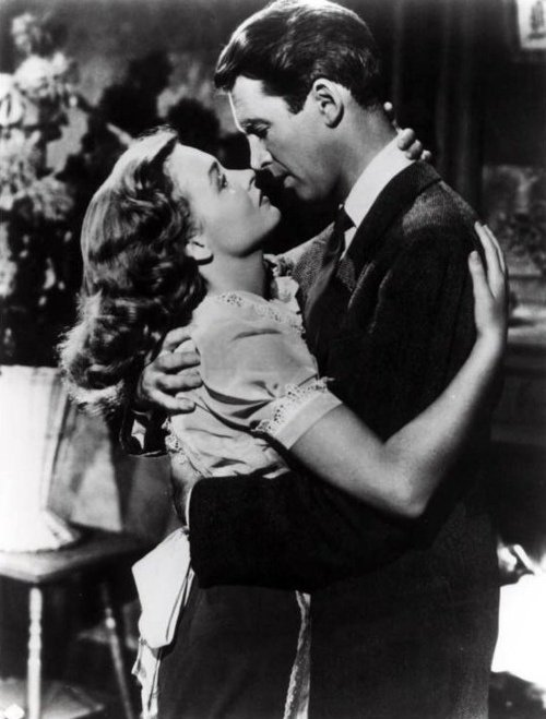 George And Mary It 39 S A Wonderful Life Great Movie Kisses