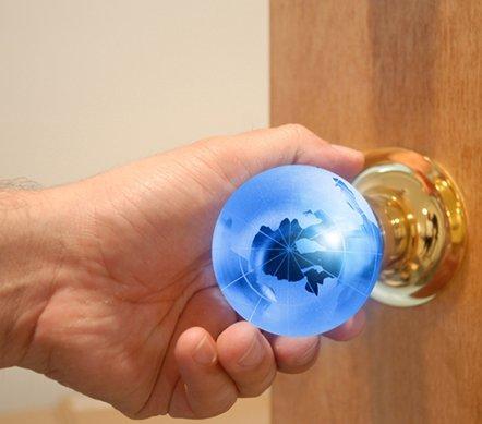 Glass Globe Doorknob inspiring decor ideas to satisfy your wanderlust  diy