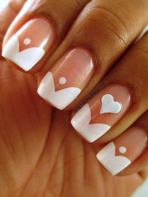 62 Fabulous French Tip Designs ... …
