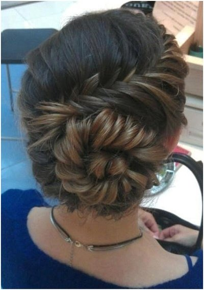 Spiral french braid 43 fancy braided hairstyle ideas from spiral french braid ccuart Gallery