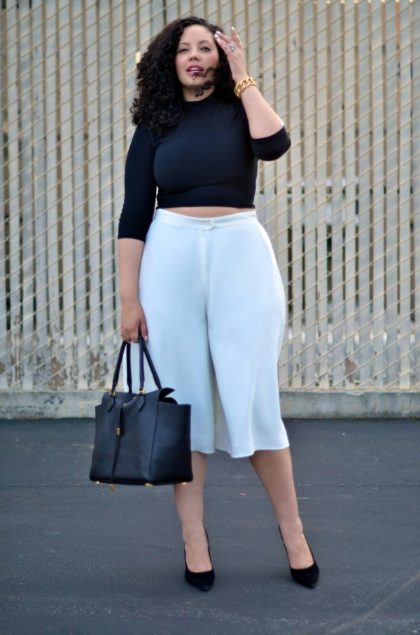 Culottes Are Perfectly Comfortable during Summer