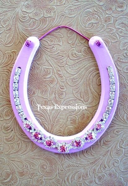 Bling horseshoe 37 horseshoe crafts to try your luck with bling horseshoe solutioingenieria Choice Image