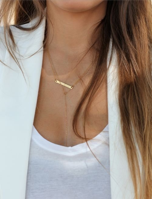 Zales Jewelry Necklaces >> Dainty Necklaces. White on White - 29 Dainty Necklaces That…